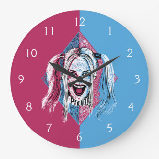 Suicide Squad | Harley Laugh Large Clock