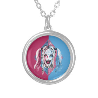 Suicide Squad | Harley Laugh Silver Plated Necklace