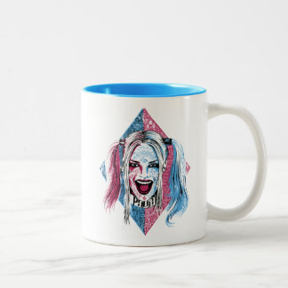 Suicide Squad | Harley Laugh Two-Tone Coffee Mug