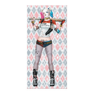 Suicide Squad   Harley Quinn Canvas Print