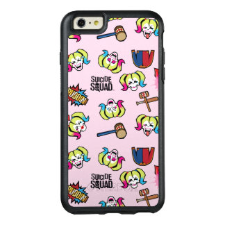 Suicide Squad | Harley Quinn Emoji Pattern OtterBox iPhone 6/6s Plus Case