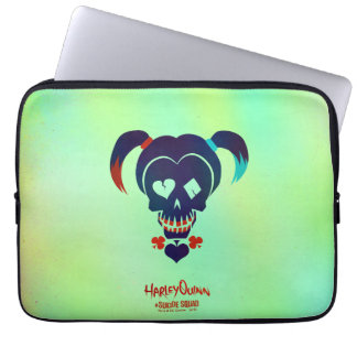 Suicide Squad | Harley Quinn Head Icon Laptop Computer Sleeve