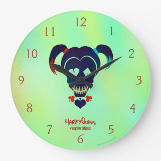 Suicide Squad | Harley Quinn Head Icon Large Clock