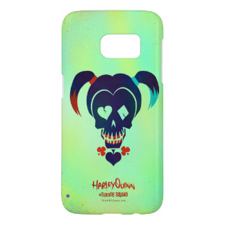 Suicide Squad   Harley Quinn Head Icon Samsung Galaxy S7 Case
