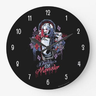 Suicide Squad | Harley Quinn Inked Graffiti Clocks