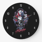 Suicide Squad | Harley Quinn Inked Graffiti Large Clock