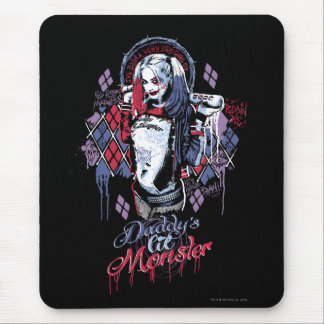 Suicide Squad | Harley Quinn Inked Graffiti Mouse Pad