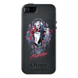 Suicide Squad | Harley Quinn Inked Graffiti OtterBox iPhone 5/5s/SE Case