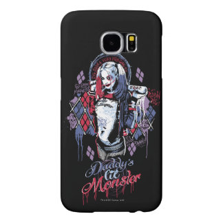 Suicide Squad | Harley Quinn Inked Graffiti Samsung Galaxy S6 Cases