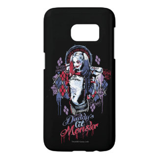 Suicide Squad | Harley Quinn Inked Graffiti Samsung Galaxy S7 Case