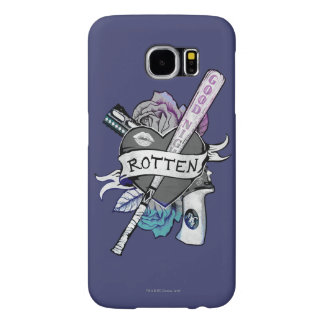 "Suicide Squad | Harley Quinn ""Rotten"" Tattoo Art Samsung Galaxy S6 Case"