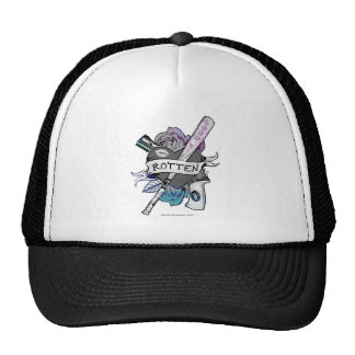 "Suicide Squad | Harley Quinn ""Rotten"" Tattoo Art Trucker Hat"