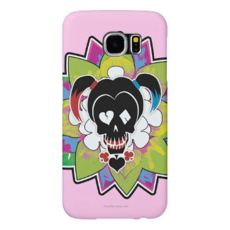 Suicide Squad | Harley Quinn Skull Tattoo Art Samsung Galaxy S6 Cases