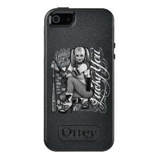 Suicide Squad | Harley Quinn Typography Photo OtterBox iPhone 5/5s/SE Case