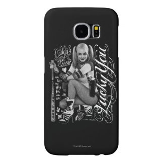 Suicide Squad | Harley Quinn Typography Photo Samsung Galaxy S6 Cases