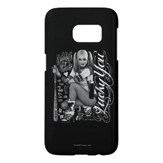 Suicide Squad | Harley Quinn Typography Photo Samsung Galaxy S7 Case
