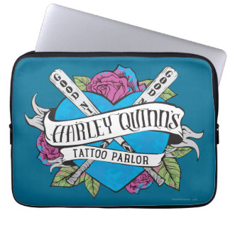 Suicide Squad | Harley Quinn's Tattoo Parlor Heart Laptop Computer Sleeves