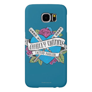 Suicide Squad | Harley Quinn's Tattoo Parlor Heart Samsung Galaxy S6 Cases
