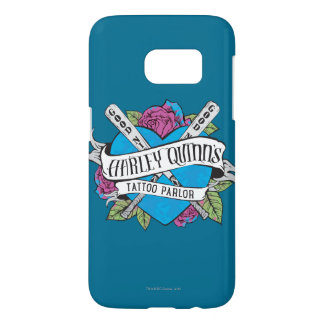 Suicide Squad | Harley Quinn's Tattoo Parlor Heart Samsung Galaxy S7 Case