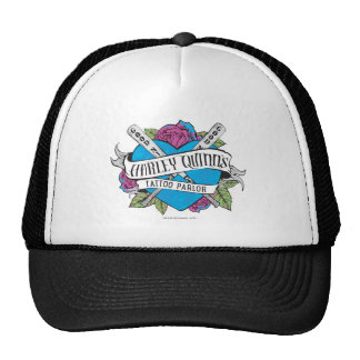 Suicide Squad | Harley Quinn's Tattoo Parlor Heart Trucker Hat