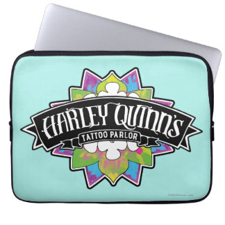 Suicide Squad | Harley Quinn's Tattoo Parlor Lotus Computer Sleeve