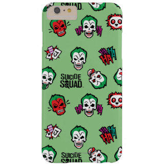 Suicide Squad | Joker Emoji Pattern Barely There iPhone 6 Plus Case