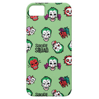 Suicide Squad | Joker Emoji Pattern iPhone 5 Cases