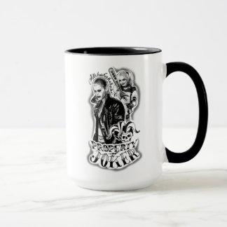 Suicide Squad | Joker & Harley Airbrush Tattoo Mug