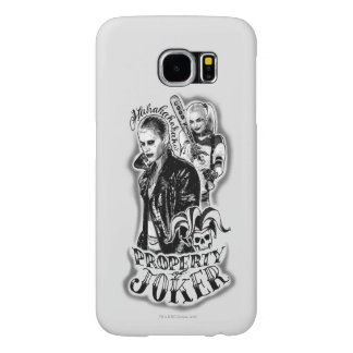 Suicide Squad | Joker & Harley Airbrush Tattoo Samsung Galaxy S6 Cases