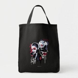 Suicide Squad | Joker & Harley Painted Graffiti