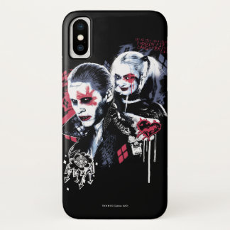 Suicide Squad | Joker & Harley Painted Graffiti Case-Mate iPhone Case