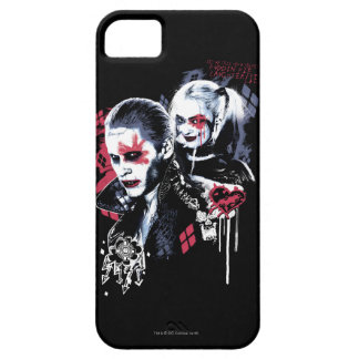 Suicide Squad | Joker & Harley Painted Graffiti iPhone 5 Cover