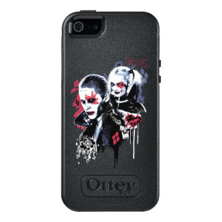 Suicide Squad | Joker & Harley Painted Graffiti OtterBox iPhone 5/5s/SE Case