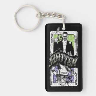 Suicide Squad | Joker & Harley Rotten Double-Sided Rectangular Acrylic Keychain