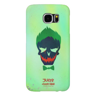Suicide Squad | Joker Head Icon Samsung Galaxy S6 Cases