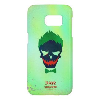 Suicide Squad   Joker Head Icon Samsung Galaxy S7 Case