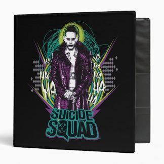 Suicide Squad   Joker Retro Rock Graphic Binder