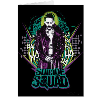 Suicide Squad | Joker Retro Rock Graphic Card