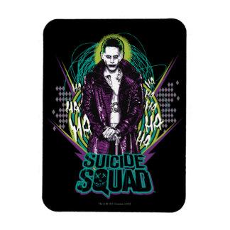 Suicide Squad | Joker Retro Rock Graphic Magnet