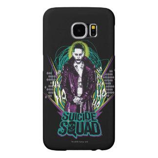 Suicide Squad   Joker Retro Rock Graphic Samsung Galaxy S6 Cases