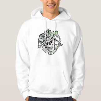 "Suicide Squad | Joker Skull ""All In"" Tattoo Art Hoodie"