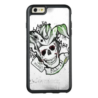 "Suicide Squad | Joker Skull ""All In"" Tattoo Art OtterBox iPhone 6/6s Plus Case"