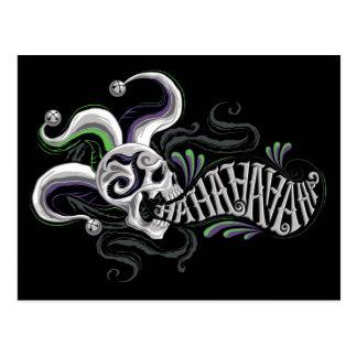 Suicide Squad | Joker Skull - Haha Postcard