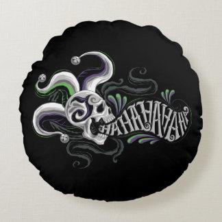 Suicide Squad | Joker Skull - Haha Round Pillow
