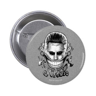 Suicide Squad | Joker Smile 2 Inch Round Button