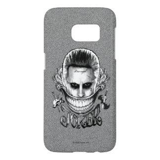 Suicide Squad   Joker Smile Samsung Galaxy S7 Case