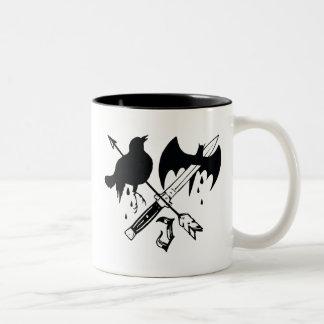 Suicide Squad | Joker Symbol Two-Tone Coffee Mug