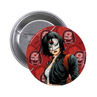 Suicide Squad | Katana Comic Book Art 2 Inch Round Button
