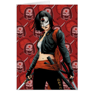 Suicide Squad | Katana Comic Book Art Card