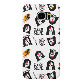 Suicide Squad | Katana Emoji Pattern Samsung Galaxy S6 Cases